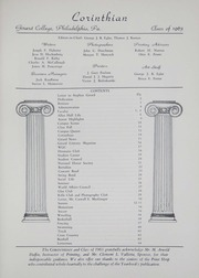 Girard College - Corinthian Yearbook (Philadelphia, PA) online yearbook collection, 1963 Edition, Page 5