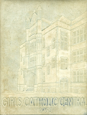 Girls Catholic Central High School - Memories Yearbook (Detroit, MI) online yearbook collection, 1953 Edition, Cover