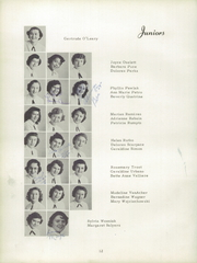 Page 16, 1953 Edition, Girls Catholic Central High School - Memories Yearbook (Detroit, MI) online yearbook collection