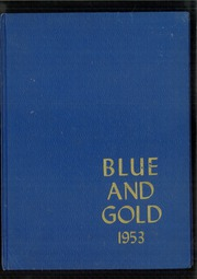 Girls High School of Brooklyn - Blue and Gold Yearbook (Brooklyn, NY) online yearbook collection, 1953 Edition, Cover