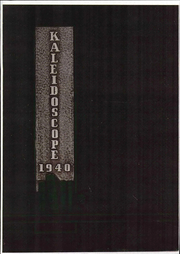 Girls Preparatory School - Kaleidoscope Yearbook (Chattanooga, TN) online yearbook collection, 1940 Edition, Cover