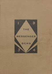 Glenwood City High School - Messenger Yearbook (Glenwood City, WI) online yearbook collection, 1934 Edition, Cover