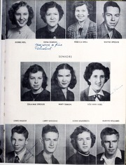 Glenwood High School - Nushka Yearbook (Glenwood, NC) online yearbook collection, 1953 Edition, Page 13 of 64