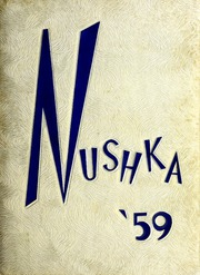 Glenwood High School - Nushka Yearbook (Glenwood, NC) online yearbook collection, 1959 Edition, Cover