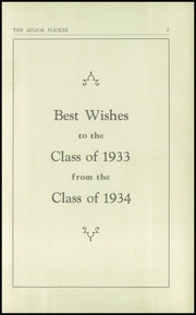 Gloucester High School - Flicker Yearbook (Gloucester, MA) online yearbook collection, 1933 Edition, Page 7