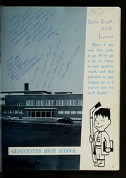 Page 7, 1962 Edition, Gloucester High School - Flicker Yearbook (Gloucester, MA) online yearbook collection