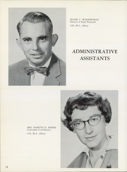 Page 16, 1960 Edition, Gloversville High School - Oracle Yearbook (Gloversville, NY) online yearbook collection