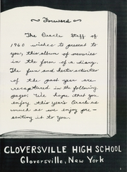 Page 7, 1960 Edition, Gloversville High School - Oracle Yearbook (Gloversville, NY) online yearbook collection