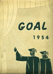 Gnadenhutten High School - Goal Yearbook (Gnadenhutten, OH) online yearbook collection, 1954 Edition, Cover