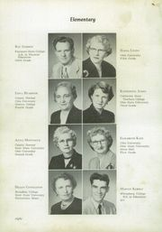 Page 12, 1954 Edition, Gnadenhutten High School - Goal Yearbook (Gnadenhutten, OH) online yearbook collection