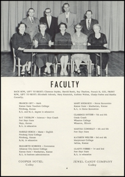 Page 12, 1956 Edition, Golden Plains High School - Bulldog Yearbook (Rexford, KS) online yearbook collection