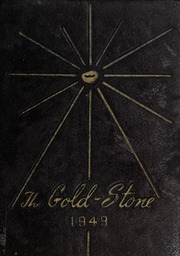 Goldston High School - Gold Stone Yearbook (Goldston, NC) online yearbook collection, 1949 Edition, Cover