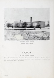 Page 8, 1949 Edition, Goldston High School - Gold Stone Yearbook (Goldston, NC) online yearbook collection