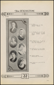 Page 13, 1922 Edition, Gonzales High School - Lexington Yearbook (Gonzales, TX) online yearbook collection