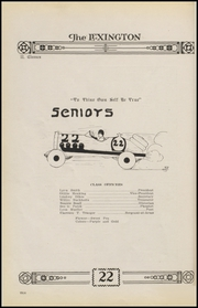 Page 14, 1922 Edition, Gonzales High School - Lexington Yearbook (Gonzales, TX) online yearbook collection