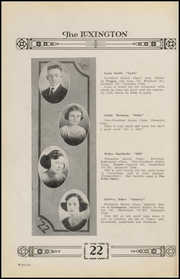 Page 16, 1922 Edition, Gonzales High School - Lexington Yearbook (Gonzales, TX) online yearbook collection