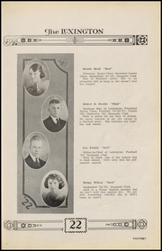 Page 17, 1922 Edition, Gonzales High School - Lexington Yearbook (Gonzales, TX) online yearbook collection