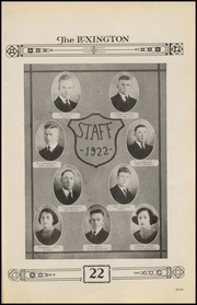 Page 9, 1922 Edition, Gonzales High School - Lexington Yearbook (Gonzales, TX) online yearbook collection