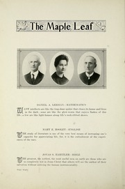 Goshen College - Maple Leaf Yearbook (Goshen, IN) online yearbook collection, 1917 Edition, Page 12