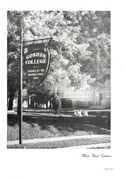 Page 11, 1948 Edition, Goshen College - Maple Leaf Yearbook (Goshen, IN) online yearbook collection
