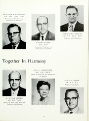 Grace College and Theological Seminary - Grace Yearbook (Winona Lake, IN) online yearbook collection, 1960 Edition, Page 17