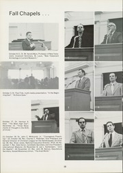 Grace Theological Seminary - Xapis / Grace Yearbook (Winona Lake, IN) online yearbook collection, 1975 Edition, Page 20 of 54