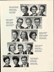 Grace University - Charis Yearbook (Omaha, NE) online yearbook collection, 1960 Edition, Page 55