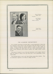 Graceland University - Acacia Yearbook (Lamoni, IA) online yearbook collection, 1929 Edition, Page 66 of 162