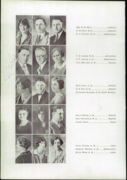 Grand Junction High School - Tiger Yearbook (Grand Junction, CO) online yearbook collection, 1929 Edition, Page 14