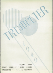 Grant Community High School - Trumpeter Yearbook (Fox Lake, IL) online yearbook collection, 1940 Edition, Page 5 of 80