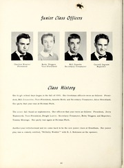 Grantham High School - Grannawayne Yearbook (Grantham, NC) online yearbook collection, 1958 Edition, Page 44
