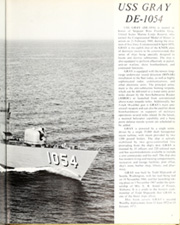 Gray (DE 1054) - Naval Cruise Book online yearbook collection, 1973 Edition, Page 7