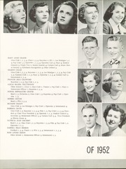 Great Bend High School - Rhorea Yearbook (Great Bend, KS) online yearbook collection, 1952 Edition, Page 27