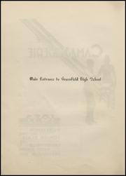 Greenfield High School - Camaraderie Yearbook (Greenfield, IN) online yearbook collection, 1932 Edition, Page 10