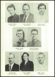 Grundy Center High School - Spartan Yearbook (Grundy Center, IA) online yearbook collection, 1955 Edition, Page 12