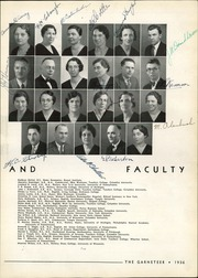 Haddon Heights High School - Garneteer Yearbook (Haddon Heights, NJ) online yearbook collection, 1936 Edition, Page 9
