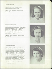 Hamilton Central High School - Hamiltonian Yearbook (Hamilton, NY) online yearbook collection, 1950 Edition, Page 11