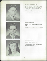 Hamilton Central High School - Hamiltonian Yearbook (Hamilton, NY) online yearbook collection, 1950 Edition, Page 12