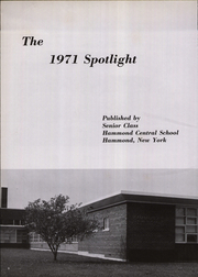 Page 6, 1971 Edition, Hammond Central School - Spotlight Yearbook (Hammond, NY) online yearbook collection