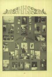 Hamtramck High School - Cosmos Yearbook (Hamtramck, MI) online yearbook collection, 1935 Edition, Page 6