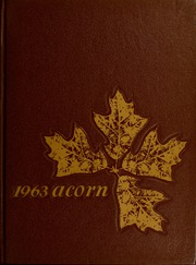 Harding High School - Acorn Yearbook (Charlotte, NC) online yearbook collection, 1963 Edition, Page 1