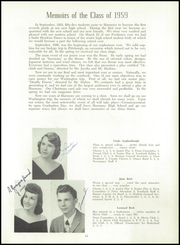 Harmony Area High School - Harmonizer Yearbook (Westover, PA) online yearbook collection, 1959 Edition, Page 17 of 88