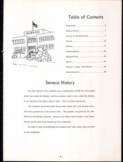 Hebron High School - Seneca Yearbook (Hebron, IN) online yearbook collection, 1961 Edition, Page 7