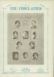 Hershey High School - Choclatier Yearbook (Hershey, PA) online yearbook collection, 1929 Edition, Page 71