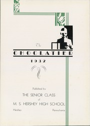 Hershey High School - Choclatier Yearbook (Hershey, PA) online yearbook collection, 1932 Edition, Page 9