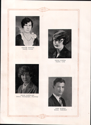 Highland High School - Iris Yearbook (Highland, IL) online yearbook collection, 1928 Edition, Page 12