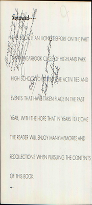Highland Park High School - Highlander Yearbook (Topeka, KS) online yearbook collection, 1959 Edition, Page 10 of 244