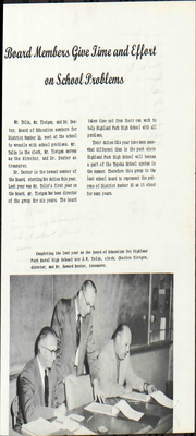 Highland Park High School - Highlander Yearbook (Topeka, KS) online yearbook collection, 1959 Edition, Page 17 of 244
