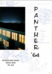 Hillcrest High School - Panther Yearbook (Dallas, TX) online yearbook collection, 1964 Edition, Page 7 of 424