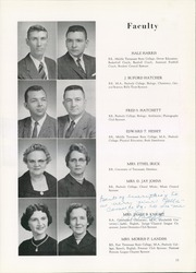 Hillsboro High School - Hillsburro Yearbook (Nashville, TN) online yearbook collection, 1959 Edition, Page 15 of 182